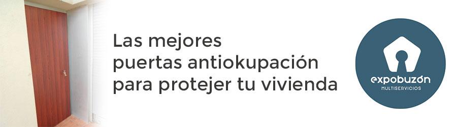 Puertas Antiokupa en Valencia de la mejor calidad