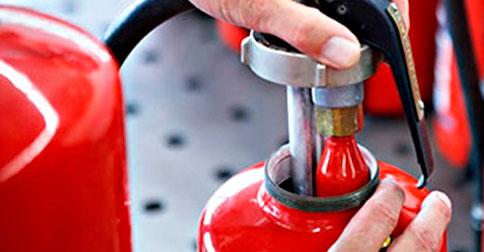 Mantenimiento de extintores en Valencia