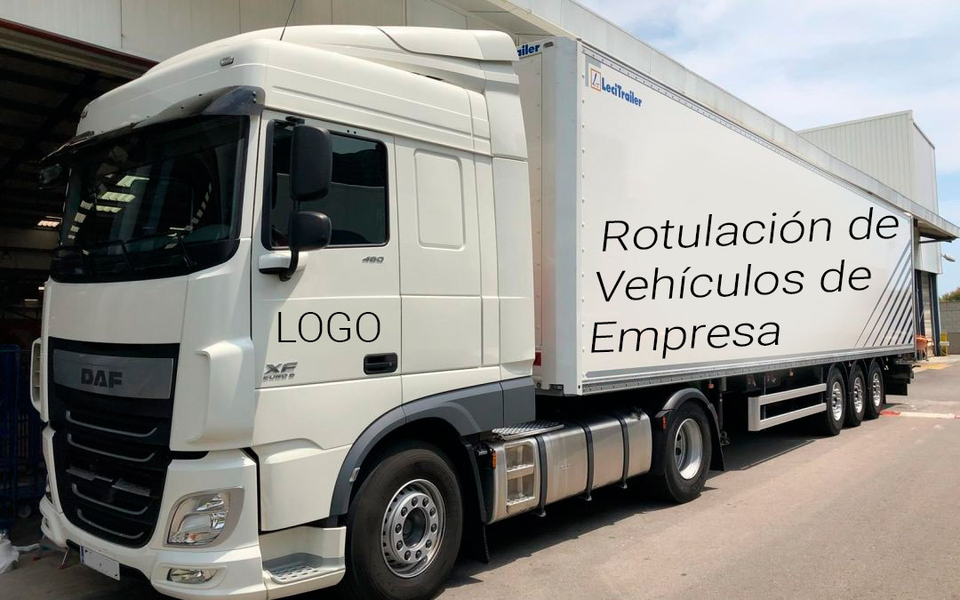 Rotulación de vehículos de empresa Valencia