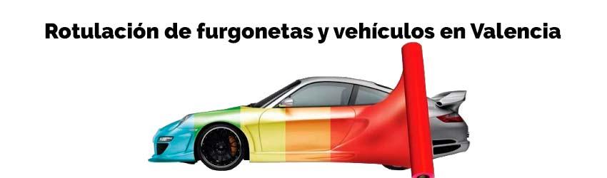 Furgonetas Vehículos Rotulación Valencia