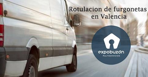 Rotulacion de furgonetas en Valencia