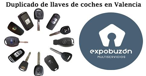 Duplicado de llaves de coches en Valencia
