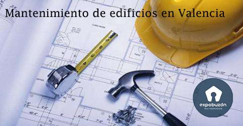 Mantenimiento de edificios en Valencia