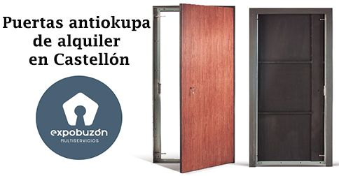 Puertas antiokupa de alquiler en Castellon