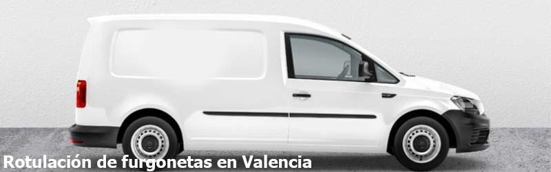 Rotulación de furgonetas Valencia